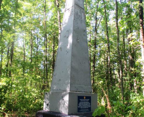 Памятник Герою Советского Союза А.П. Кириченко