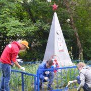 памятник Лёне Таранику